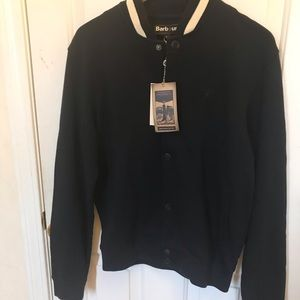Barbour bomber jacket size small